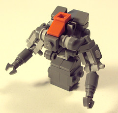Bot Frame MKIII (OrangeKNight) Tags: justin lego frame april armored challenge mecha mech pyne mechahub