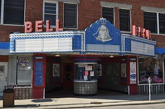 Bell Theater, Pineville, Kentucky (esywlkr) Tags: sign movie marquee theater neon theatre kentucky ky pineville bellcounty