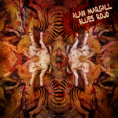 Blues Rojo (Alan Margall) Tags: art rock alan album cover musica tapa diseño stoner psicodelico margall