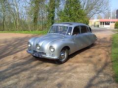 1948 Tatra T87 Mk. II (Davydutchy) Tags: auto classic car march automobile czech rear engine oldtimer v8 87 czechoslovakia tatra t87 aircooled streamliner klassiker veterán klassieke 2013 ledwinka