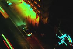 Time Passing (the-meadowlark) Tags: city urban cars night sanantonio buildings lights cityscape texas lighttrails riverwalk lovelycity nikond3000