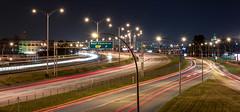 Highway 40 East Bound v2 (-> LorenzMao <-) Tags: lorenzmaophotography montralnightshooters nightphotography nikond750 nightlights d750 montreal montral quebec canada lights lightsstreaks lighttrails