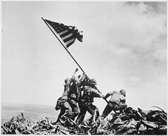 Photograph of Flag Raising on Iwo Jima, 02/23/1945 (The U.S. National Archives) Tags: usmc wwii worldwarii bradley marines block pto february hayes marinecorps iwojima secondworldwar worldwartwo february23 rosenthal unitedstatesmarinecorps fifthmarinedivision usmarines pacifictheatre gagnon raisingtheflag mtsuribachi pacifictheater usmarinecorps flagraising unitedstatesmarines joerosenthal johnbradley franklinsousley sousley irahayes strank mountsuribachi renegagnon iwoto mikestrank harlonblock michaelstrank pacifictheaterofoperations 5thmarinedivision usnationalarchives february231945 pacifictheatreofoperations todaysdocument nara:arcid=520748 02231945 28thmarineregiment 28thmarines spearheaddivision