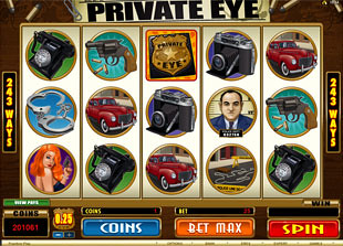 Private Eye slot game online review