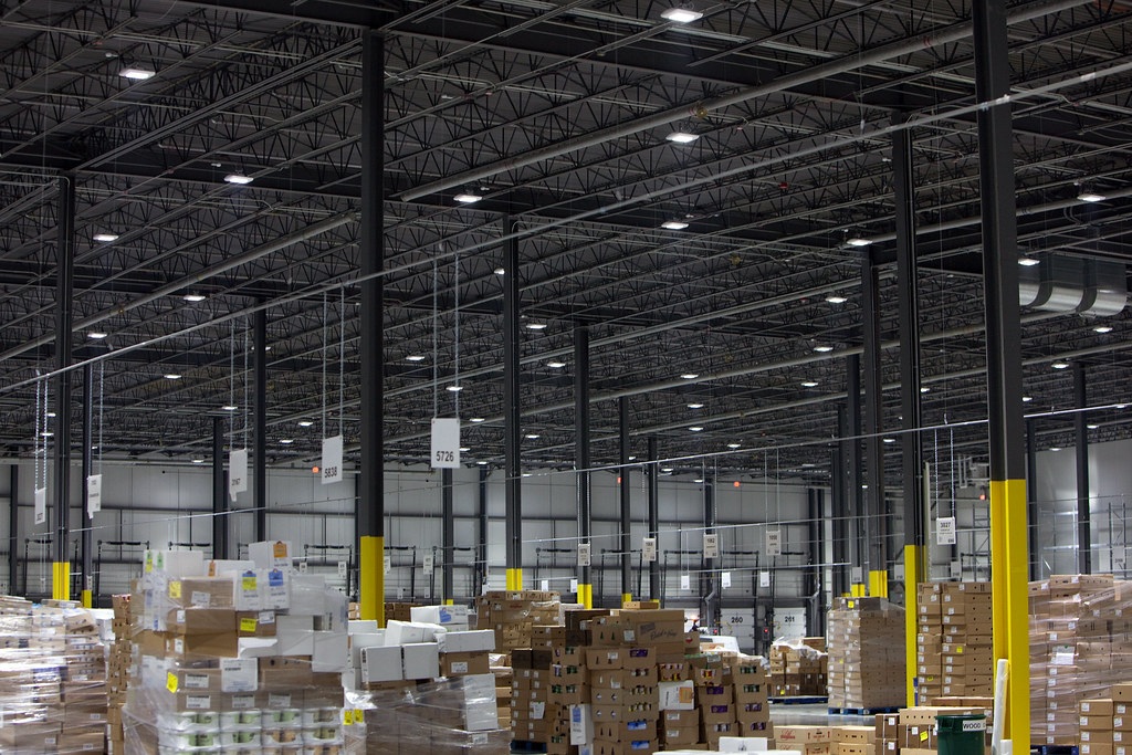 Balzac Fresh Food Distribution Center - LED lights
