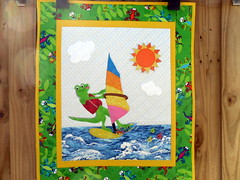 Quilting Diva's Entry for the Project Quilting - What's in a Name Challenge