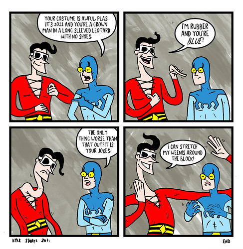 Bad Plastic Man Joke