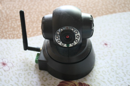 IP Wireless/Wired Camera