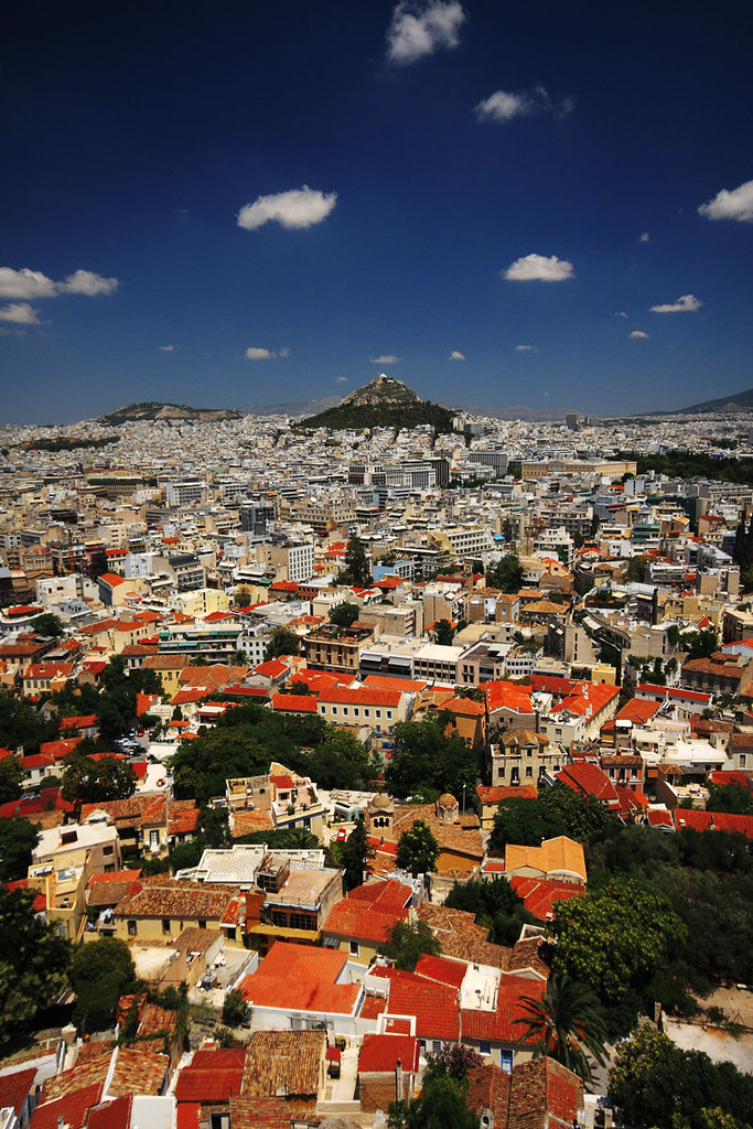 View from the Acropolis. Photography blog.