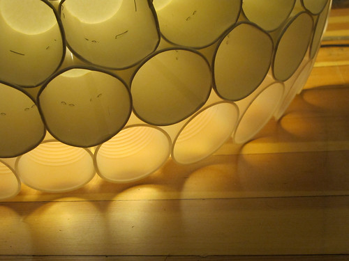 Semi-Transparent Dome of Cups on Flickr