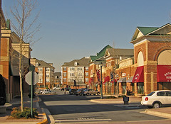 commercial street, King Farm (by: EPA Smart Growth)