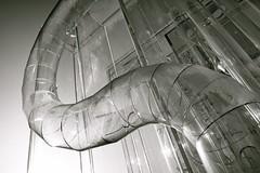 tubular transparency (vaquey) Tags: fountain monochrome germany deutschland sigma transparency plexiglas tubular karlsruhe bernd foveon badenwrttemberg benedix 41mm vaquey speziatode dp2s