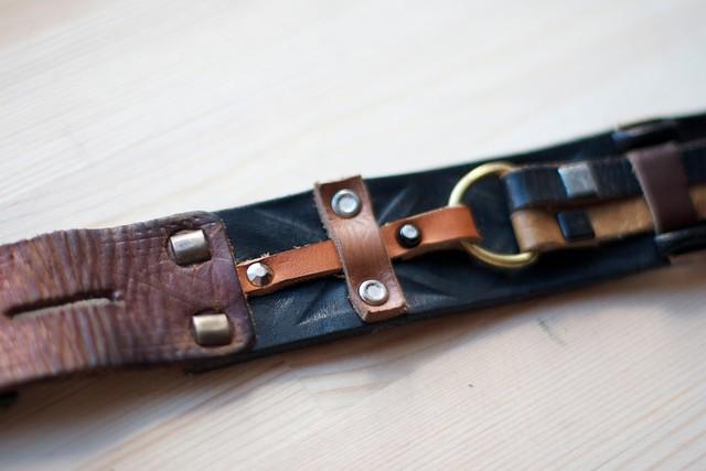 кожаные ремни ручной работы
