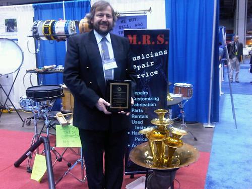 Pete LaVictoire OMEA award