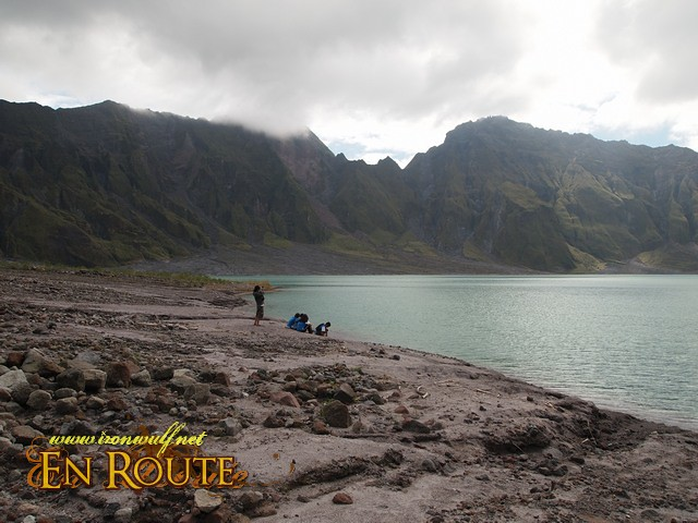 A different atmosphere on this side of Pinatubo