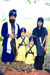 Sikh Value System (gurbir singh brar) Tags: family sikhs punjab punjabi 2010 khalsa nihangs pathlawa gurbirsinghbrar babaswarnjitsingh sikhfamily
