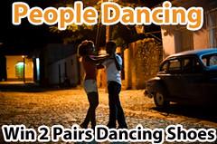 people dancing in a dance class in the street, Marla Silva