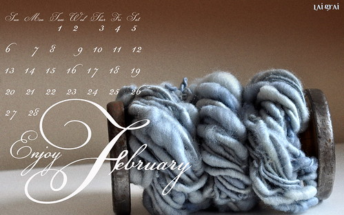 romantic + yarn calendar