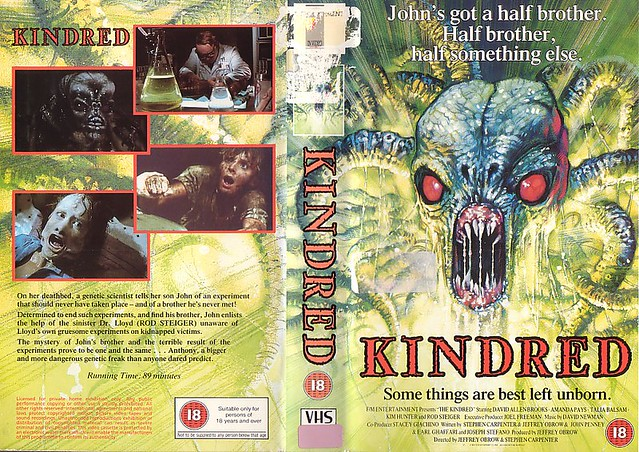KINDRED (VHS Box Art)