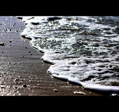 ... to live each moment to the full, because that moment never comes again. (*karla) Tags: life light sea summer sun canon 50mm dof bokeh f14 live wave moment