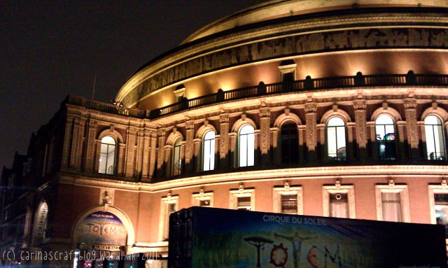 Totem at Royal Albert Hall