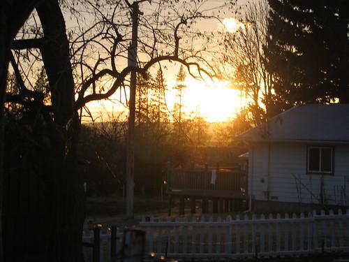 Amber Lake Sunset 2