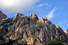 Piste forestière du San Petru : Punta di u Corbu et Teghje Liscie