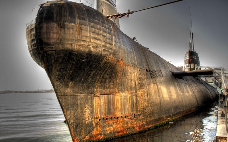 Army surplus submarine