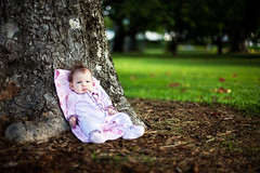 Chillin in the Park ( KristoforG) Tags: park blur tree green hawaii sharp mohawk ambient greass