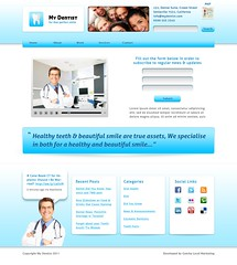 """Wordpress Theme for Dental Practices • <a style=""""font-size:0.8em;"""" href=""""http://www.flickr.com/photos/10555280@N08/5428576987/"""" target=""""_blank"""">View on Flickr</a>"""