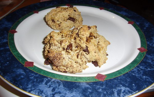 Vegan Ginger Chocolate Chunk Scones
