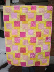 Baby Quilt Order Girl