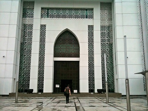 Entering Museum