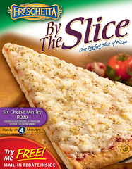 FRESCHETTA® By The Slice Six Cheese Medley