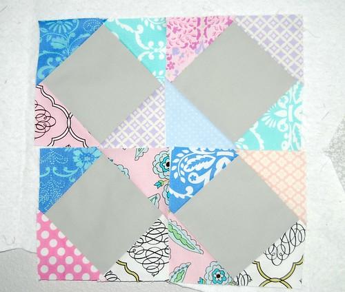 friend's baby quilt WIP