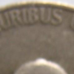 1945 No Mintmark Nickel closeup