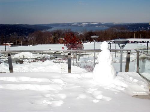 Ithaca College: Snowman