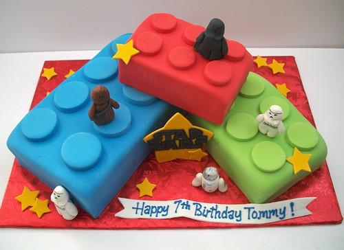 Lego-Star Wars Cake