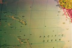 Mapped (Joey Gonz) Tags: city film 35mm vintage hawaii losangeles globe nikon sandiego oahu tmax map maui pearl honolulu n80 expiredfilm uhmanoa fujicolor
