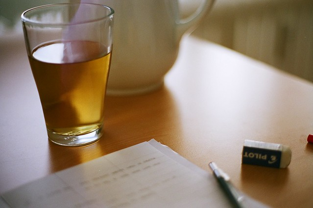 plans + tea