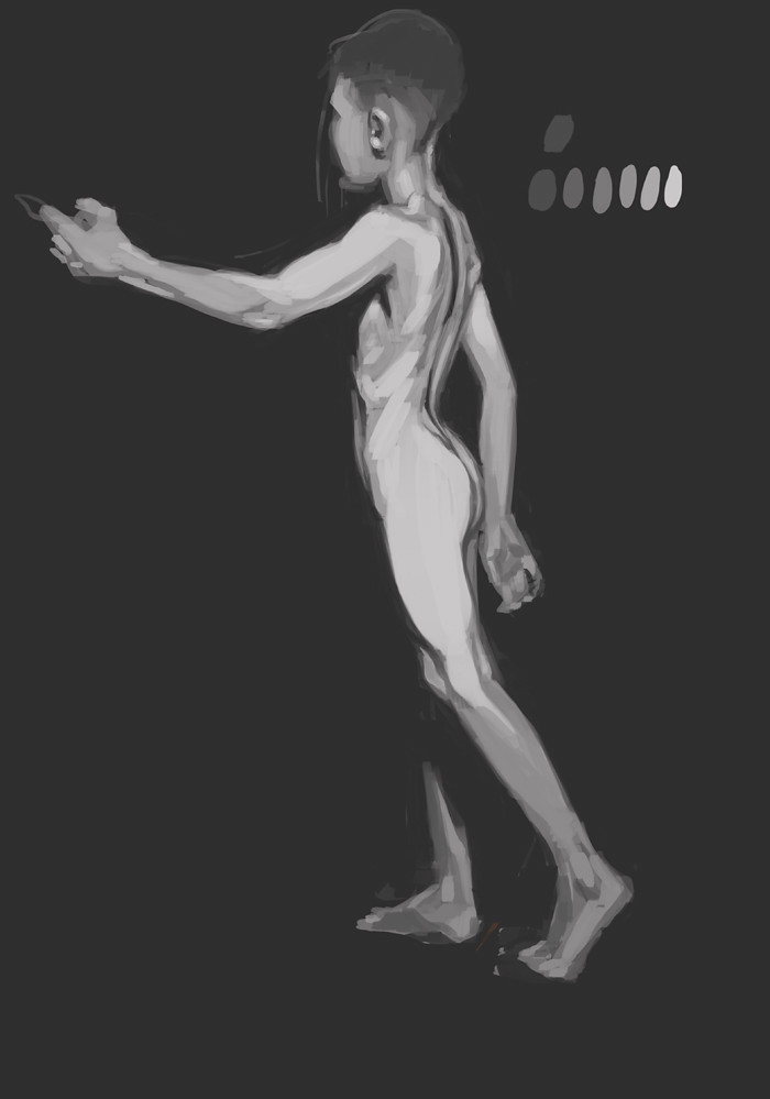 WIP figurestudy - boy