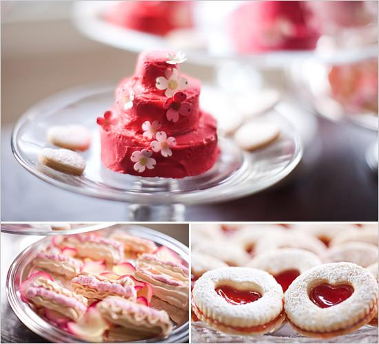 pinkweddingcookies