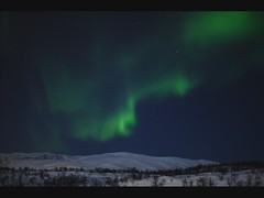 Aurora borealis over Tromsya, 15th of February 2011 (Per Ivar Somby) Tags: film timelapse auroraborealis troms nordlys kvalya northernlight polarlight polarlys arcticlightshow