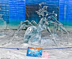 """Destiny/Destinee""   - Ottawa 02 11 (Mikey G Ottawa) Tags: city winter sculpture ontario canada ice carved ottawa carving eis confederationpark glace icesculpture winterlude baldeneige mikeygottawa eiss rogerscrystalgarden"