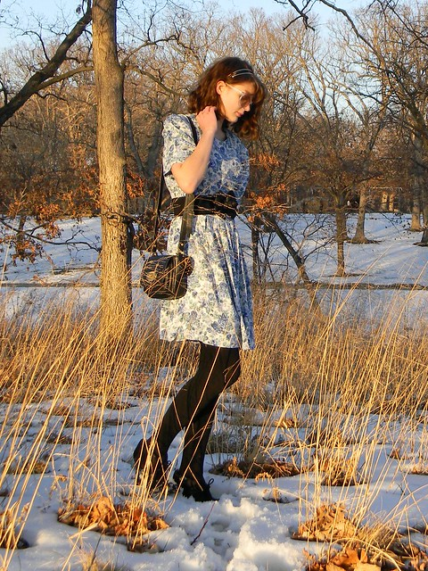 beautifully pure katie dahl modes fashion personal style vintage dress