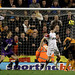 Kevin Doyle (2R) of Wolverhampton scores his teams second goal
