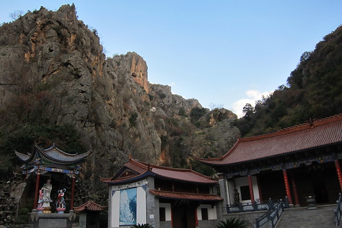 GuanYin Canyon climbing and temple