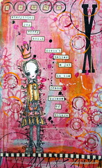 Journal page - Get over yourself (thekathrynwheel) Tags: moleskine sketchbook artjournal journaling stampotique