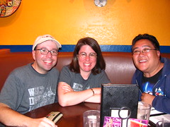 Joseph, Chrissy and Me at Tortilla Jo's (Loren Javier) Tags: california me disneyland disney anaheim downtowndisney disneylandresort tortillajos josephpowers lorenjavier chrissypowers