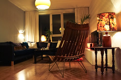 Home Sweet Home (Oh beautiful world.) Tags: home lights evening chair livingroom lamps cosy appartment ohbeautifulworld hannekevollbehr